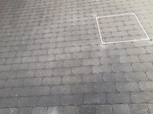 waterdoorlatende betonkeiklinkers